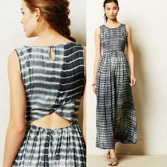 14f24a428 Anthropologie Dresses & Skirts - Anthropologie Shibori Maxi Dress by Neuw